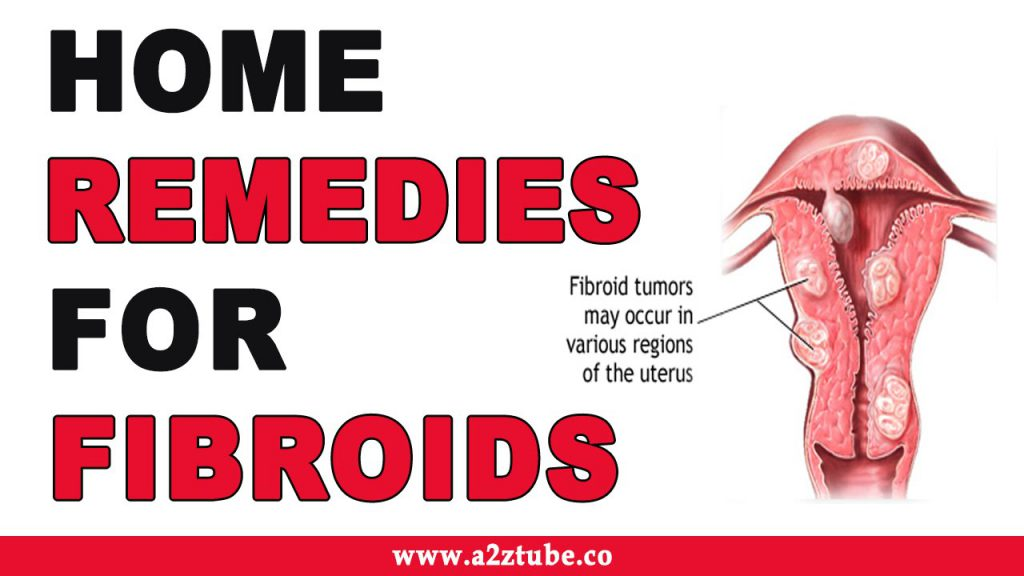how to treat fibroids at home